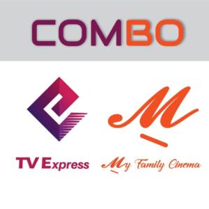Código de recarga:  (Um mês – TV Express) + (Um mês – My Family Cinema)