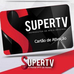Código de recarga: Um mês de acesso a plataforma – SUPER TV
